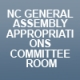 NC General Assembly Appropriations Committee Room